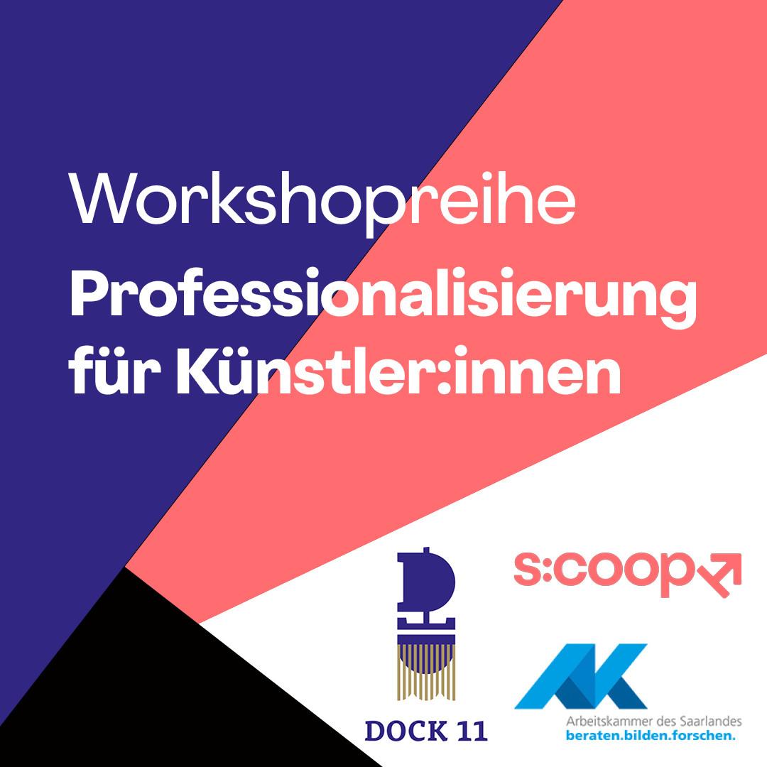 """Die Workshopreihe """"Professionalisierung für Künstler:innen"""" geht weiter"""