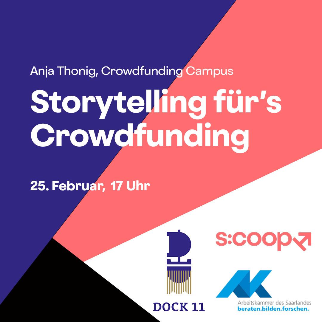 Storytelling für's Crowdfunding