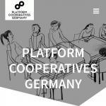 Webseite Platform Cooperatives Germany