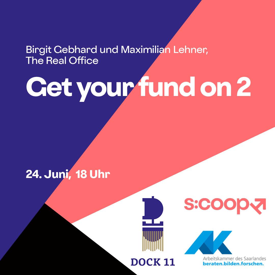 Online-Workshop »Get your fund on 2: Stipendium, Residency, Projektförderung«