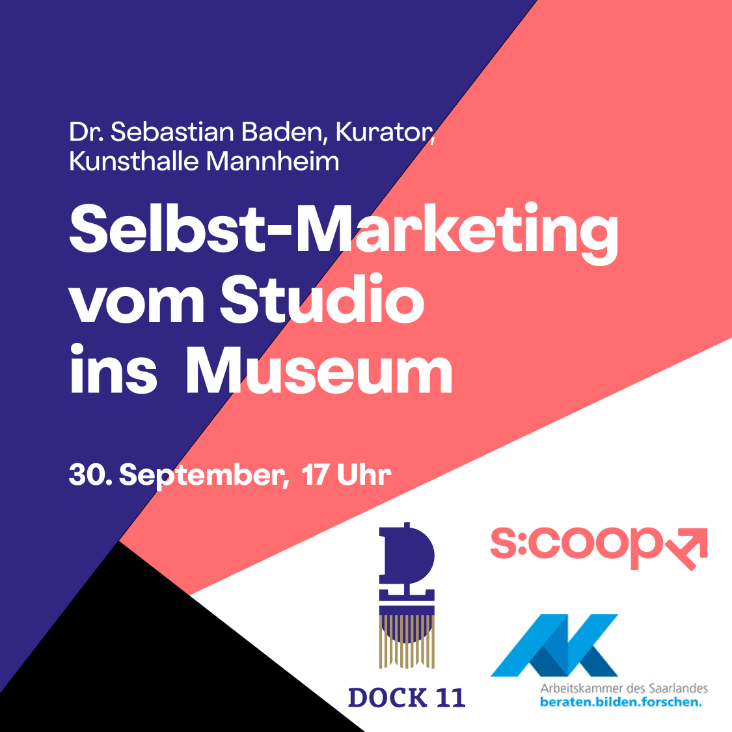 Online-Workshop »Selbst-Marketing vom Studio ins  Museum«